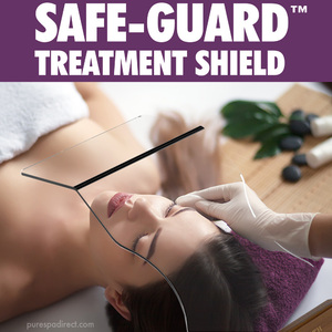 Safe-Guard™ Treatment Shield - Ideal for Facials and Face-up Body Treatments
