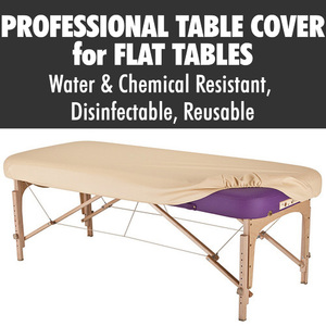 "Sanitary Protective Professional™ Flat Table Cover - Fits 28""-32"" Width Flat Tables - Disinfectable Reusable Water and Chemical Resistant"