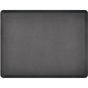 4'x5' Granite Collection Salon Mat without Chair Depression in Granite Steel (SS4050BN75GS)