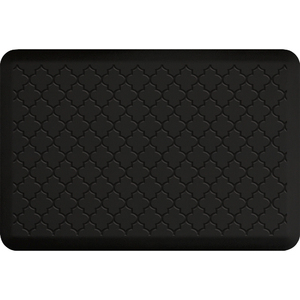 "Gothic Impression Collection - Anti-Fatigue Mat Black 3' x 2' x 34"" (IM32GOBLK)"