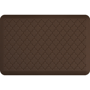 "Gothic Impression Collection - Anti-Fatigue Mat Brown 3' x 2' x 34"" (IM32GOBRN)"