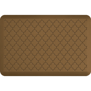 "Gothic Impression Collection - Anti-Fatigue Mat Tan 3' x 2' x 34"" (IM32GOTAN)"