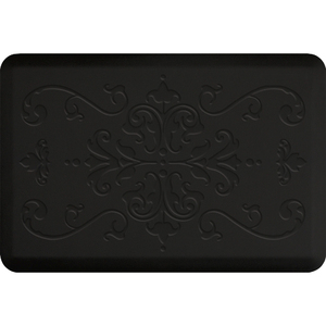 "Classical Impression Collection - Anti-Fatigue Mat Black 3' x 2' x 34"" (IM32CLBLK)"