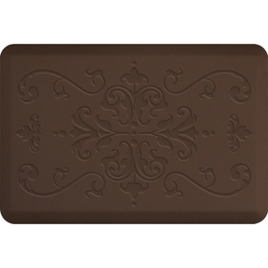 "Classical Impression Collection - Anti-Fatigue Mat Brown 3' x 2' x 34"" (IM32CLBRN)"