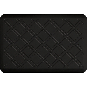 "Lattice Impression Collection - Anti-Fatigue Mat Black 3' x 2' x 34"" (IM32LABLK)"