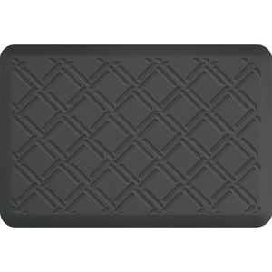 "Lattice Impression Collection - Anti-Fatigue Mat Gray 3' x 2' x 34"" (IM32LAGRY)"