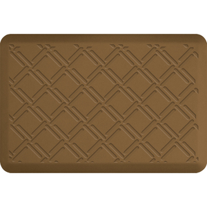 "Lattice Impression Collection - Anti-Fatigue Mat Tan 3' x 2' x 34"" (IM32LATAN)"