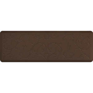 "Romanesque Impression Collection - Anti-Fatigue Mat Brown 6' x 2' x 34"" (IM62ROBRN)"