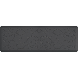 "Romanesque Impression Collection - Anti-Fatigue Mat Gray 6' x 2' x 34"" (IM62ROGRY)"