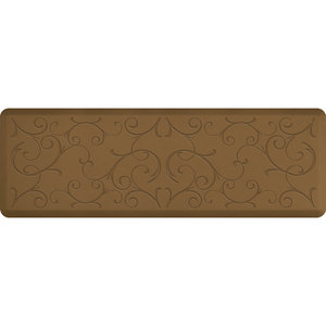 "Romanesque Impression Collection - Anti-Fatigue Mat Tan 6' x 2' x 34"" (IM62ROTAN)"