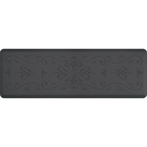 "Classical Impression Collection - Anti-Fatigue Mat Gray 6' x 2' x 34"" (IM62CLGRY)"