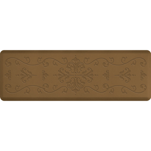 "Classical Impression Collection - Anti-Fatigue Mat Tan 6' x 2' x 34"" (IM62CLTAN)"