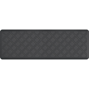 "Lattice Impression Collection - Anti-Fatigue Mat Gray 6' x 2' x 34"" (IM62LAGRY)"