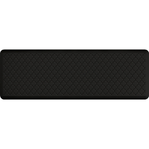 "Gothic Impression Collection - Anti-Fatigue Mat Black 6' x 2' x 34"" (MT62WMRBLK)"