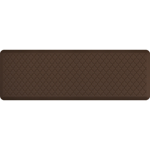 "Gothic Impression Collection - Anti-Fatigue Mat Brown 6' x 2' x 34"" (MT62WMRBRN)"
