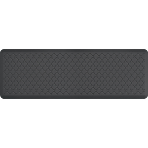 "Gothic Impression Collection - Anti-Fatigue Mat Gray 6' x 2' x 34"" (MT62WMRGRY)"