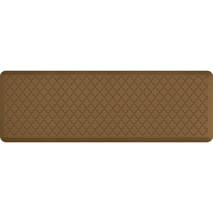 "Gothic Impression Collection - Anti-Fatigue Mat Tan 6' x 2' x 34"" (MT62WMRTAN)"
