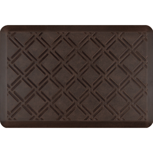 "Lattice Patina Collection - Anti-Fatigue Mat Antique Dark 3' x 2' x 34"" (PA32LADK)"