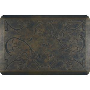 "Romanesque Prestige Collection - Anti-Fatigue Mat Duskly Sapphire 3' x 2' x 34"" (PR32ROOAS)"
