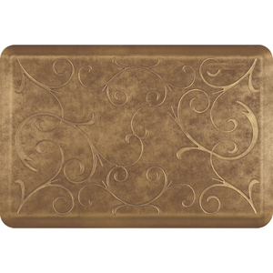 "Romanesque Prestige Collection - Anti-Fatigue Mat Umber Elegance 3' x 2' x 34"" (PR32ROBURC)"