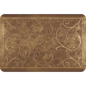 "Romanesque Prestige Collection - Anti-Fatigue Mat Toasted Almond 3' x 2' x 34"" (PR32ROROSG)"