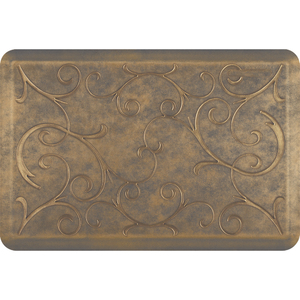 "Romanesque Prestige Collection - Anti-Fatigue Mat Timeless Gold 3' x 2' x 34"" (PR32ROANTG)"