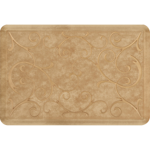 "Romanesque Prestige Collection - Anti-Fatigue Mat Warm Sand 3' x 2' x 34"" (PR32ROAZTG)"