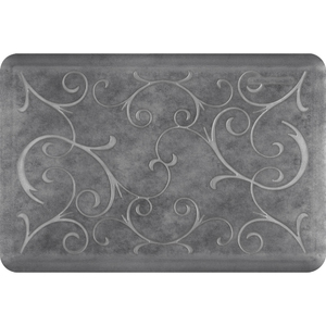 "Romanesque Prestige Collection - Anti-Fatigue Mat Slate 3' x 2' x 34"" (PR32ROSLA)"