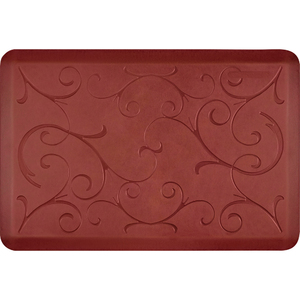 "Romanesque Prestige Collection - Anti-Fatigue Mat Rosewood Charm 3' x 2' x 34"" (PR32ROSUN)"