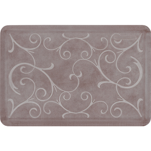 "Romanesque Prestige Collection - Anti-Fatigue Mat Dunmore Cream 3' x 2' x 34"" (PR32RODRI)"