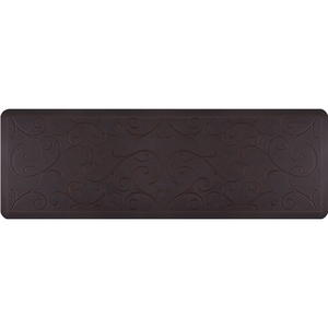"Romanesque Prestige Collection - Anti-Fatigue Mat Tawny Blue 6' x 2' x 34"" (PR62RONAVP)"