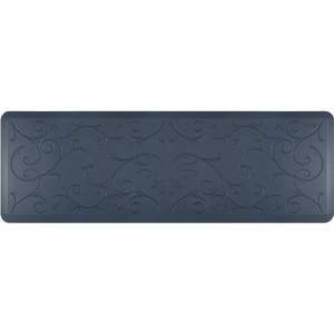 "Romanesque Prestige Collection - Anti-Fatigue Mat Indigo Denim 6' x 2' x 34"" (PR62ROLAG)"