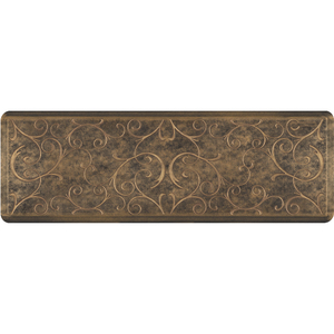 "Romanesque Prestige Collection - Anti-Fatigue Mat Rich Chestnut 6' x 2' x 34"" (PR62ROBRO)"