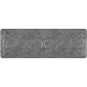 "Romanesque Prestige Collection - Anti-Fatigue Mat Slate 6' x 2' x 34"" (PR62ROSLA)"