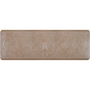 "Romanesque Prestige Collection - Anti-Fatigue Mat Natural Stone 6' x 2' x 34"" (PR62ROSAN)"