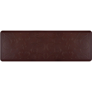 "Romanesque Prestige Collection - Anti-Fatigue Mat Grand Mahogany 6' x 2' x 34"" (PR62ROCOC)"