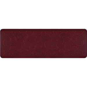 "Romanesque Prestige Collection - Anti-Fatigue Mat Deep Currant 6' x 2' x 34"" (PR62ROREDS)"
