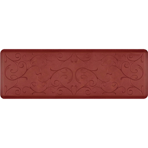 "Romanesque Prestige Collection - Anti-Fatigue Mat Rosewood Charm 6' x 2' x 34"" (PR62ROSUN)"
