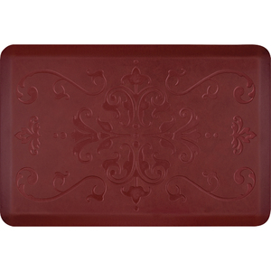 "Classical Prestige Collection - Anti-Fatigue Mat Maroon Aura 3' x 2' x 34"" (PR32CLCOR)"