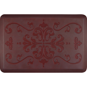 "Classical Prestige Collection - Anti-Fatigue Mat Antique Rose 3' x 2' x 34"" (PR32CLPALW)"