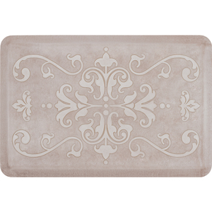 "Classical Prestige Collection - Anti-Fatigue Mat Antique White 3' x 2' x 34"" (PR32CLSAND)"