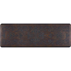 "Classical Prestige Collection - Anti-Fatigue Mat Rustic Steel 6' x 2' x 34"" (PR62CLHAR)"