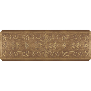 "Classical Prestige Collection - Anti-Fatigue Mat Umber Elegance 6' x 2' x 34"" (PR62CLBURC)"