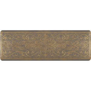"Classical Prestige Collection - Anti-Fatigue Mat Timeless Gold 6' x 2' x 34"" (PR62CLANTG)"
