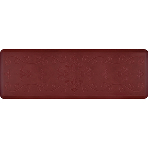 "Classical Prestige Collection - Anti-Fatigue Mat Maroon Aura 6' x 2' x 34"" (PR62CLCOR)"