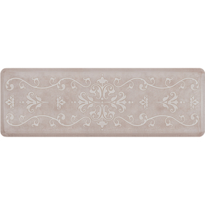 "Classical Prestige Collection - Anti-Fatigue Mat Antique White 6' x 2' x 34"" (PR62CLSAND)"