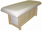 "Taj Mahal ""Glow"" Massage Table with Cabinet (TM-3007 TW CAB)"