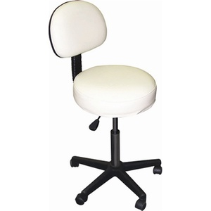 Solutions Rolling Stool with Back (I9310)