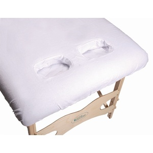 Fitted Sheet with Breast Recesses - White (FIT-BR)
