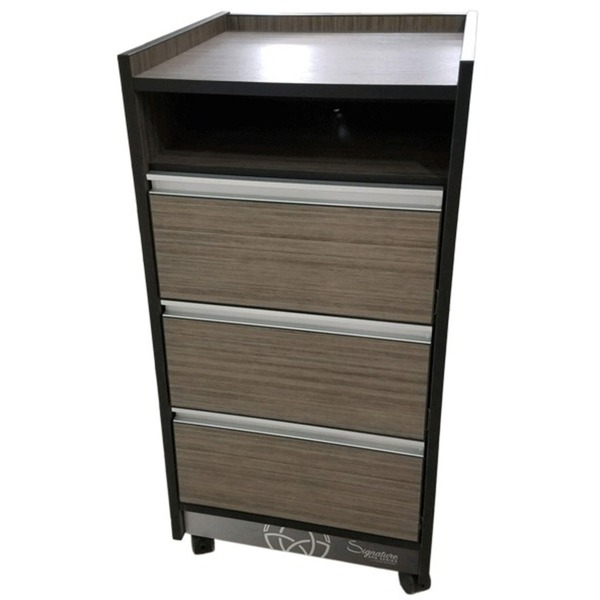 T300 Signature Spa Series Trolley Cart - Open Storage + 3 Drawers (T300)
